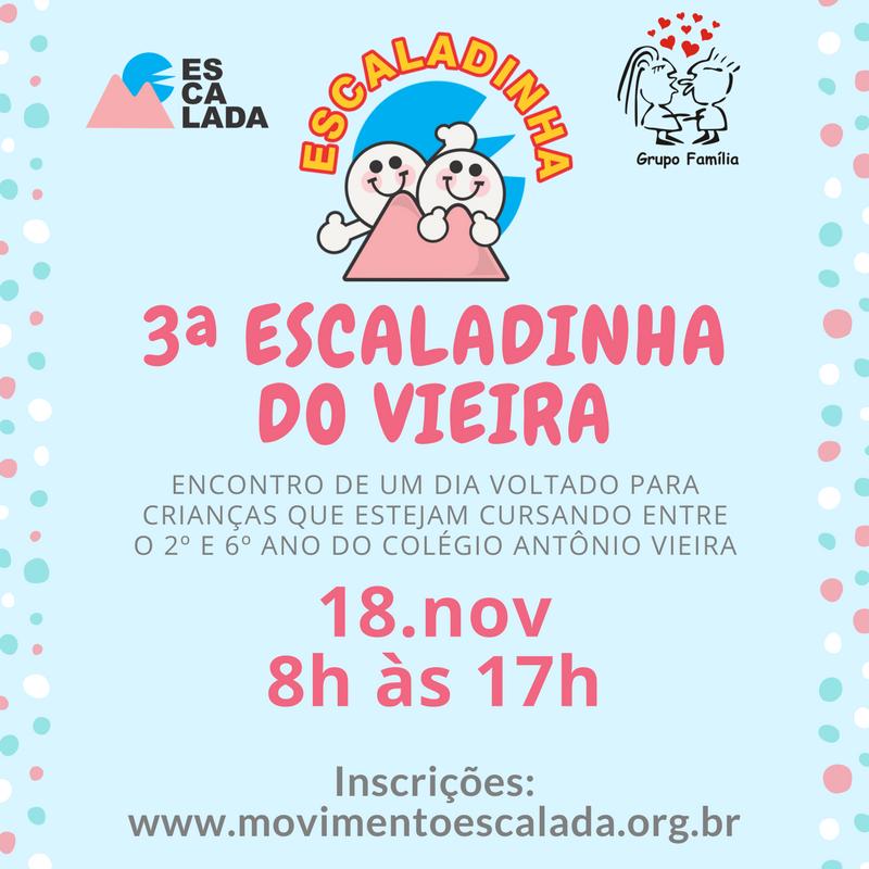 3a Escaladinha no Vieira