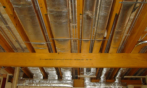 Central air system, ductwork