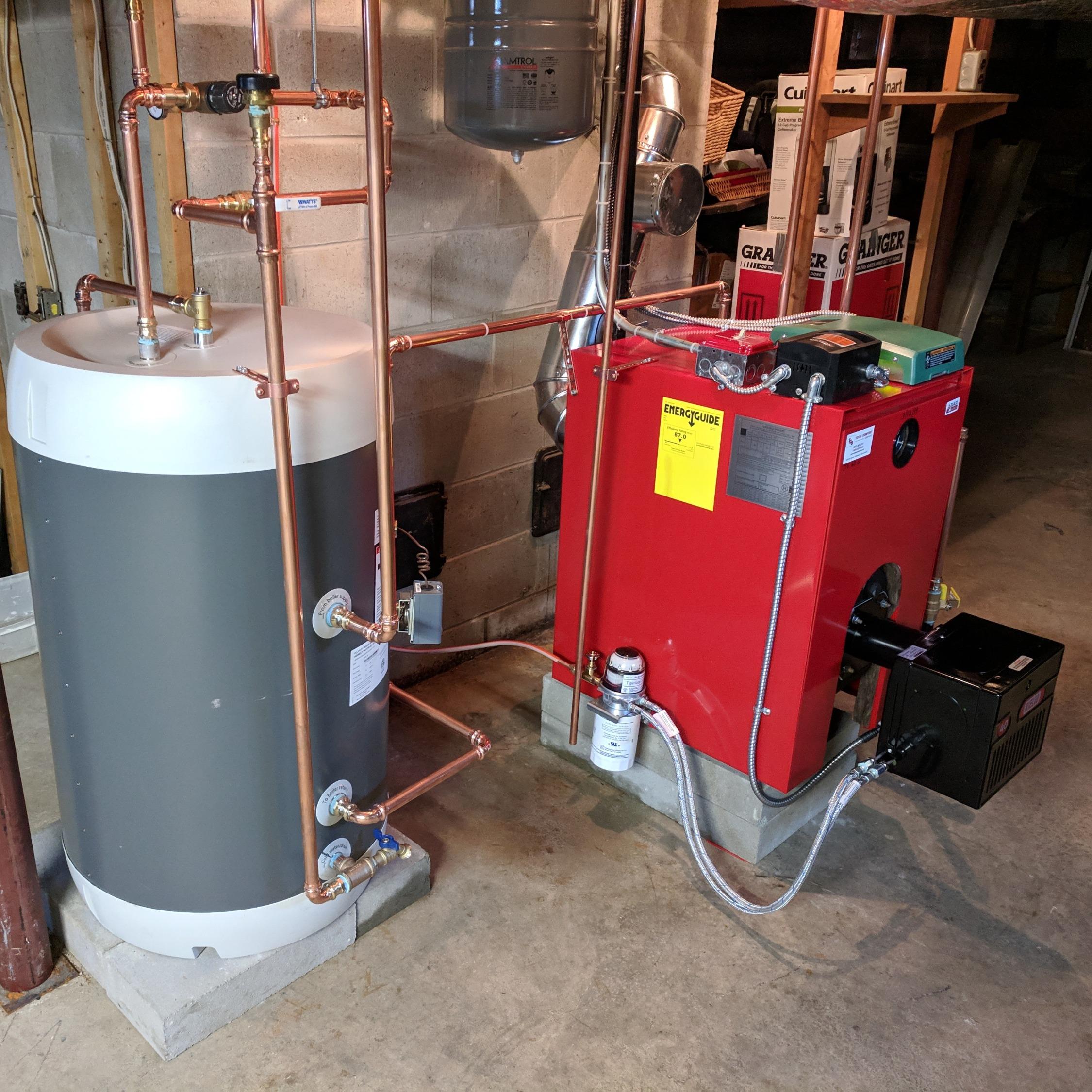 York Oil Boiler