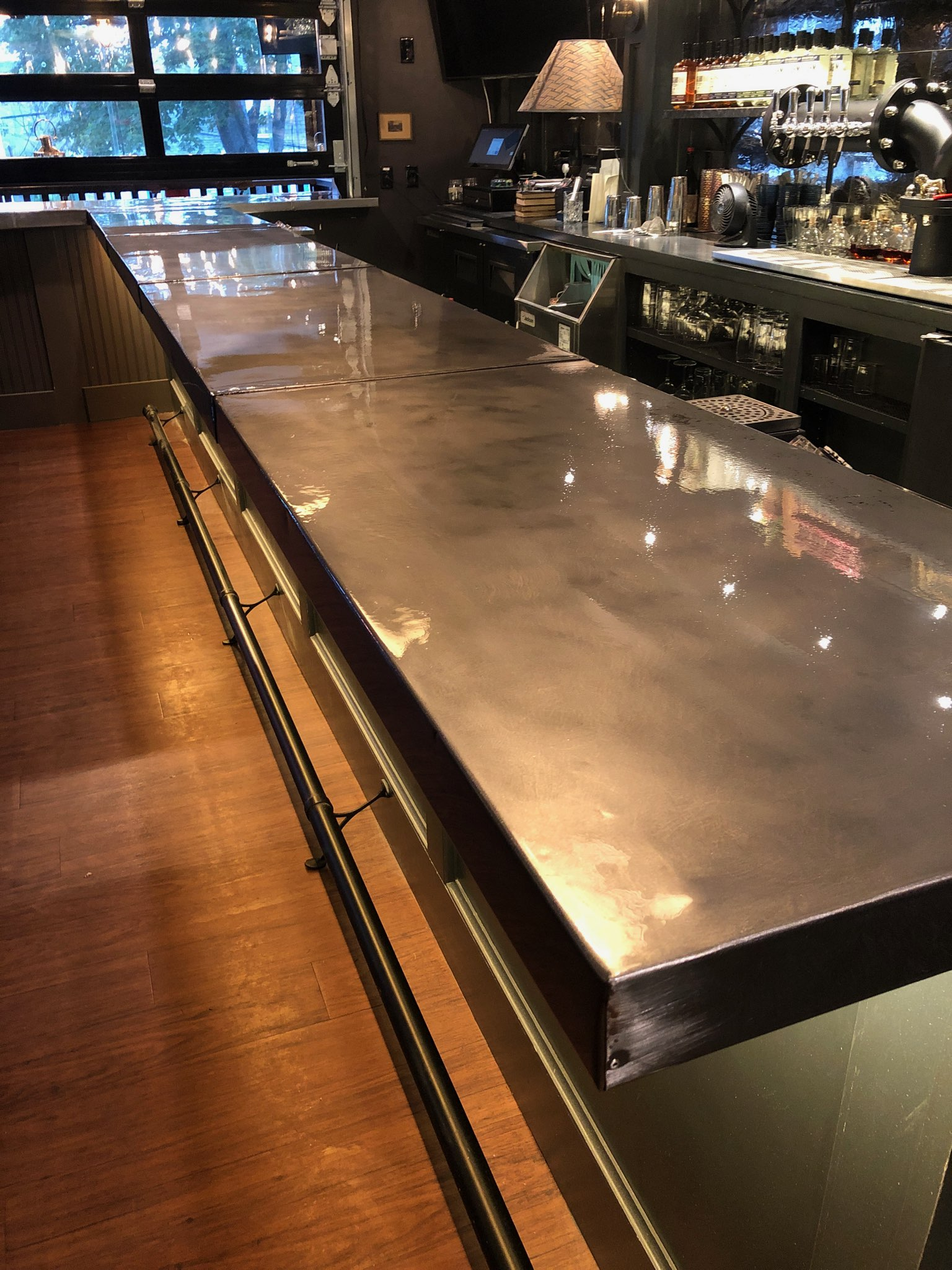Batson River bar top