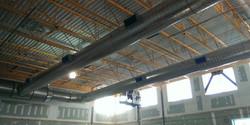 Soule School Gym Duct