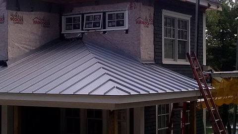 Metal fabrication, copper roofs