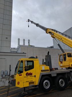 Large chemical duct replacement