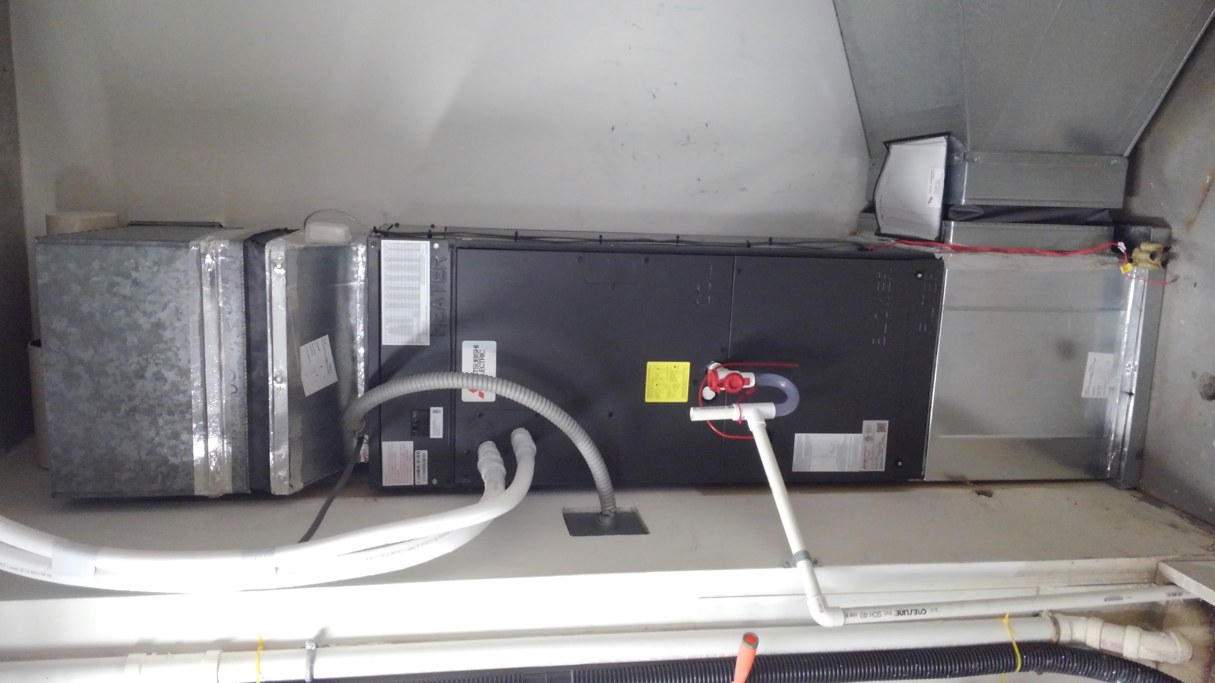 Mitsubishi ducted heat pump