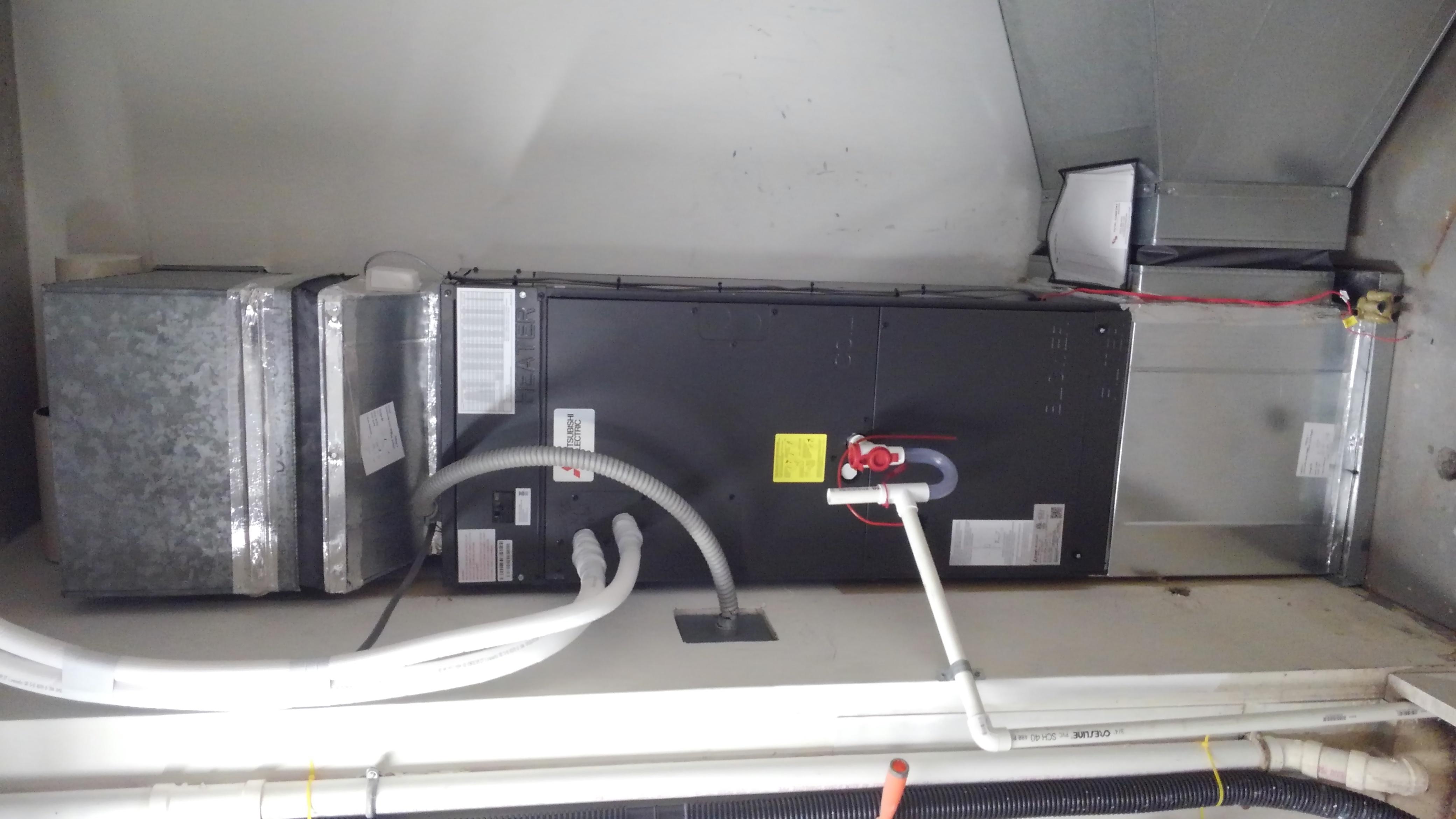 Mitsubishi ducted heat pump