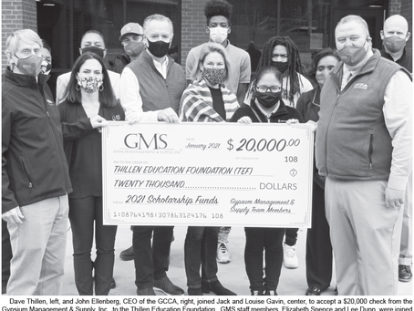 PRINT: Thillen Education Foundation-GMS Partnership Featured in Greensboro Herald-Journal