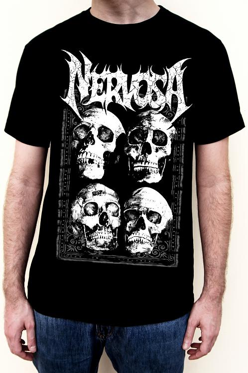 TSHIRT - 4 Skulls Nervosa