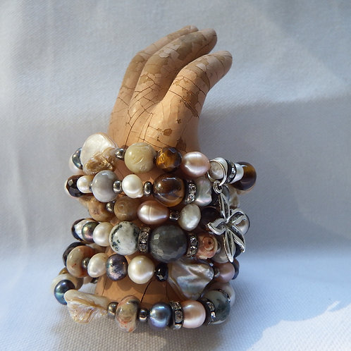 Atlantis Sand Wrap Bracelet  SOLD