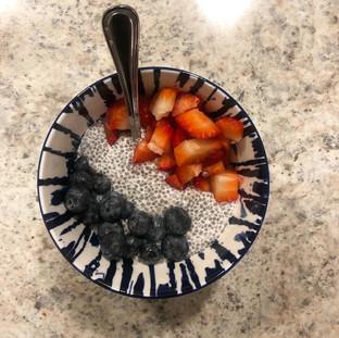 Chia Seed Pudding... #WinningDessert
