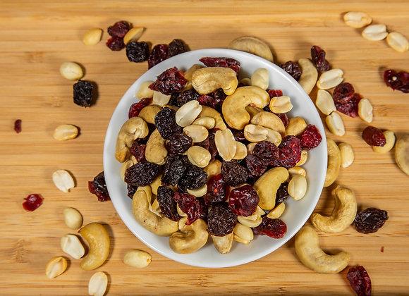 Mezcla nueces y frutos