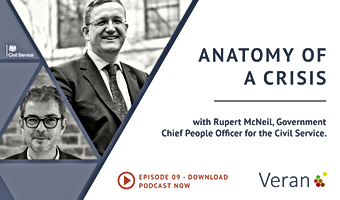 Anatomy of a Crisis webinar with Rupert McNeil, Government Chief People Officer for the Civil Service