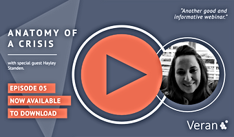 Anatomy of a Crisis webinar with Hayley Standen, HR Director from Office Shoes