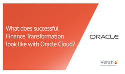 What does successful Finance Transformation look like with Oracle Cloud?