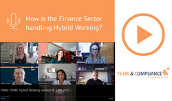 How is the Finance Sector handling Hybrid Working?
