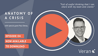 Anatomy of a Crisis webinar with Paul Devoy, CEO from Investors in People