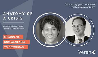 Anatomy of a Crisis webinar with Janet Thomas and David Williams