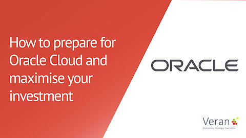 An advert for our event, How to prepare for Oracle Cloud and maximise your investment