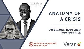 Anatomy of a Crisis webinar with Bola Ogun, Reward Leader from Natura & Co.