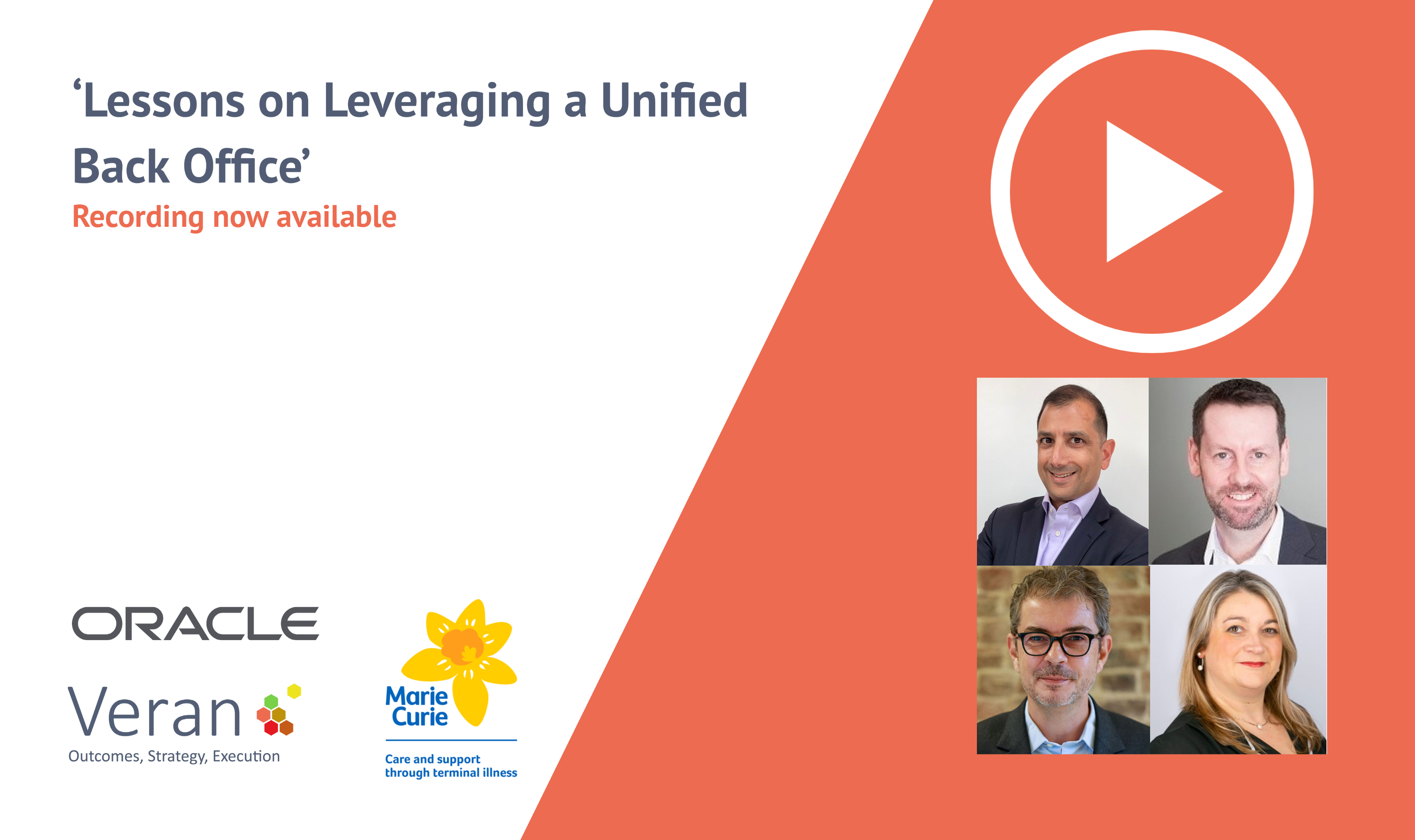 'Lessons on Leveraging a Unified Back Office'