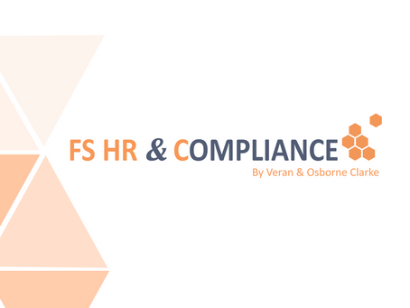 FS HR & Compliance Network announces new legal sponsor
