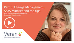 Adopting Change and a SaaS Mindset
