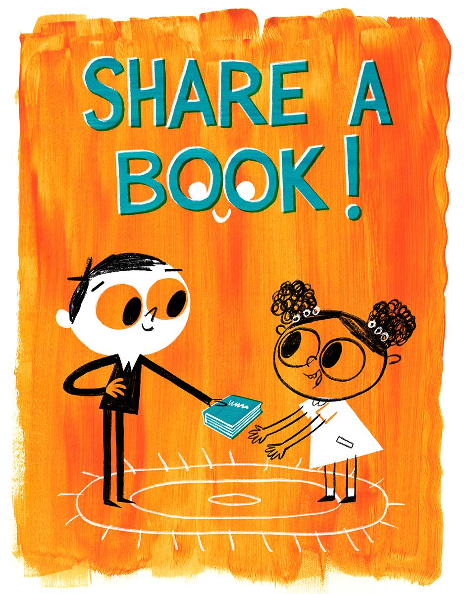 SHARE A BOOK!