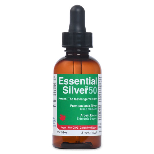 Essential Silver™ Ultra Strength 50 ppm Dropper