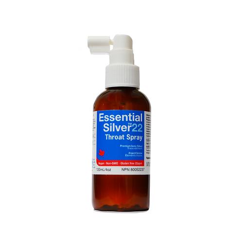 Essential Silver™ Extra Strength 22 ppm Throat Spray