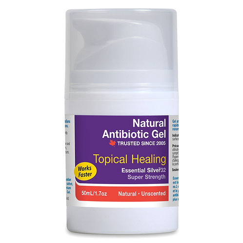 Essential Silver™ Super Strength Natural Antibiotic Gel 32ppm - Unscented
