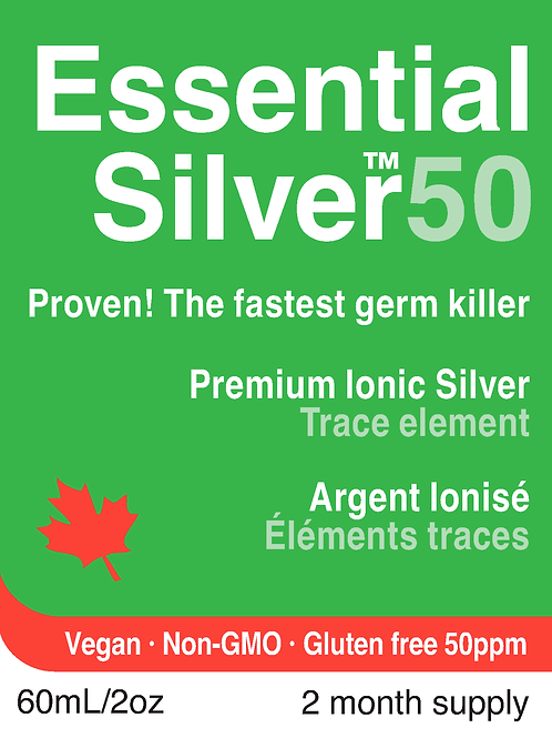 Essential Silver™ Ultra Strength 50 ppm Dropper