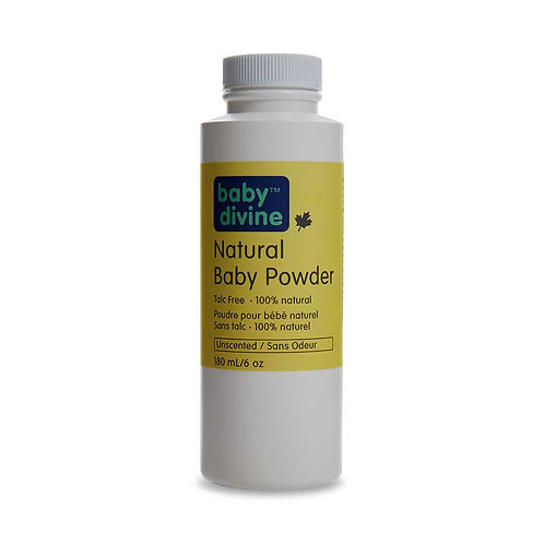 Baby Divine™ Talc-free Natural Baby Powder - Unscented