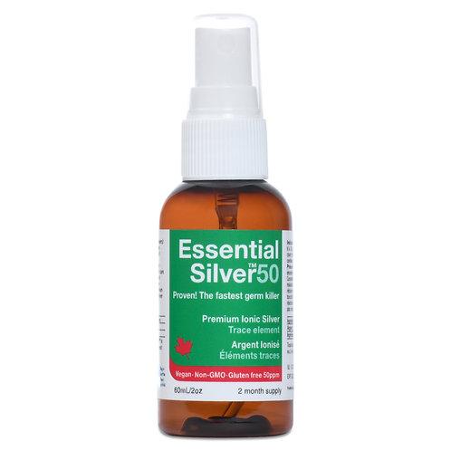 Essential Silver™ Ultra Strength 50 ppm Spray