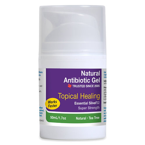 Essential Silver™ Super Strength Natural Antibiotic Gel 32ppm with Tea Tree