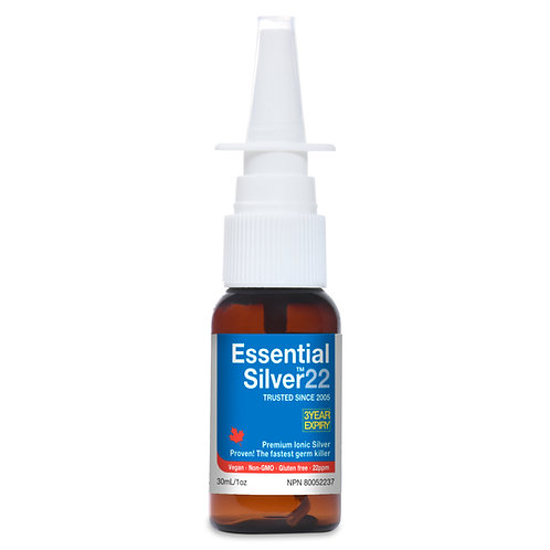 Essential Silver™ Extra Strength 22 ppm Nasal Mist