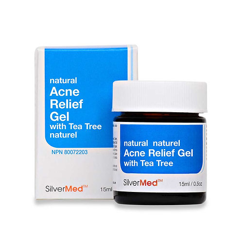 SilverMed™ - Acne Relief Gel with tea tree and camphor
