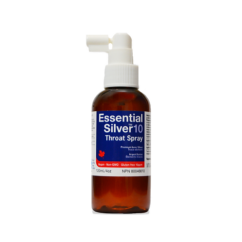 Essential Silver™ Regular Strength 10 ppm Throat Spray