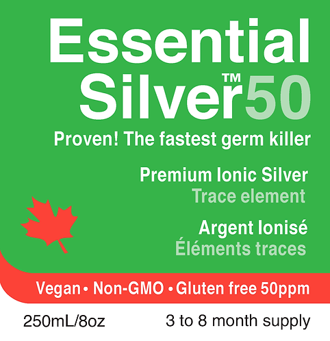 Essential Silver™ Ultra Strength 50 ppm Twist Cap