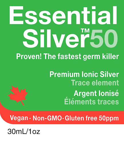 Essential Silver™ Ultra Strength 50 ppm Nasal Mist