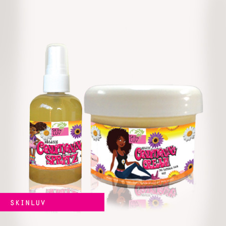 SKIN LUV lable designs