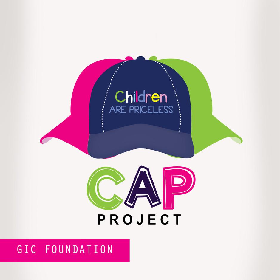Greta Caines logo for GIC foundation