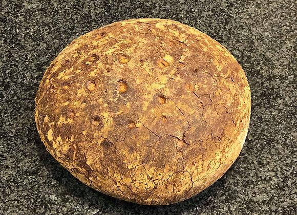 Bruin brood dubbel gebakken