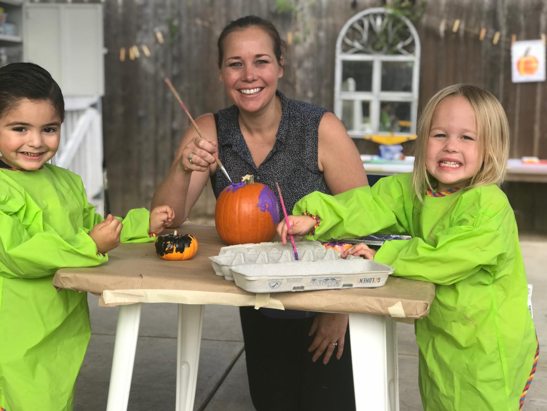 painting pumpkins.JPG
