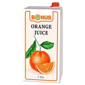 Globus - orange juice