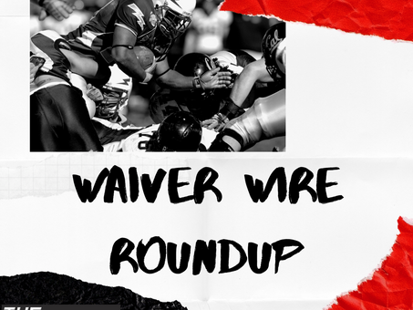 The Waiver Wire Roundup