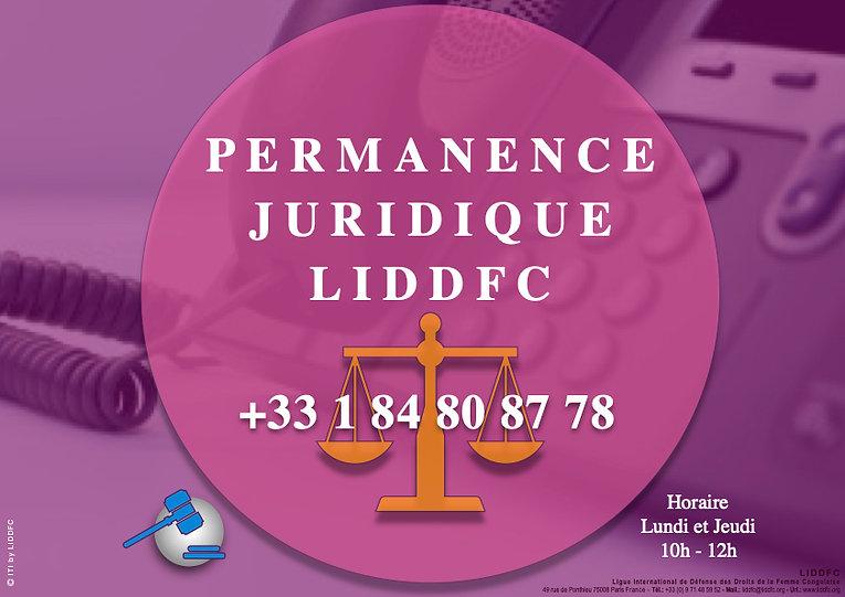 PERMANCE JURIDIQUE LIDDFC +33 1 84 80 87 78