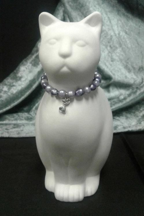 Magnetic Cat Collar (purple)