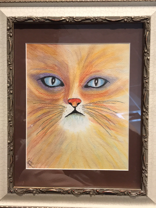 """""""PASTEL KITTEN"""" by CARRIE CHAMBLESS"""