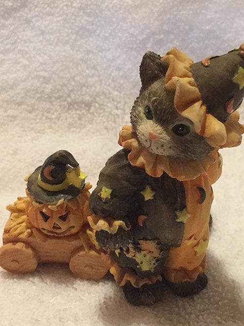 """CALICO KITTENS """"Cute As A Pumpkin"""""""