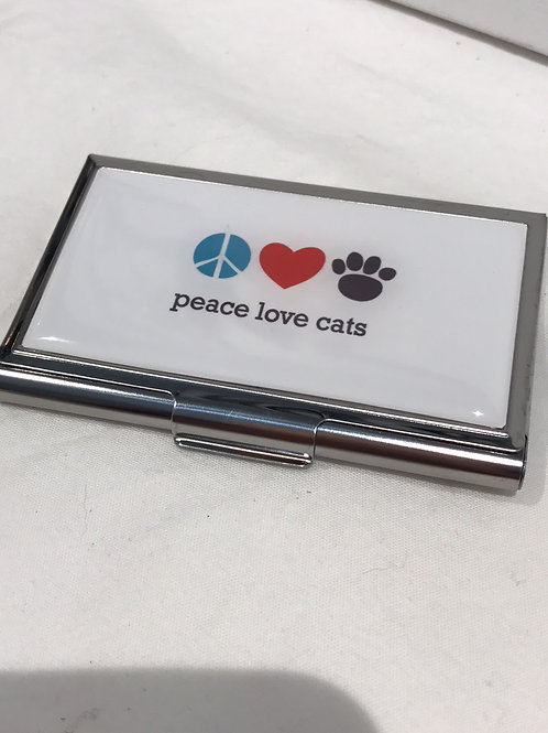 CATS Business Card Holder
