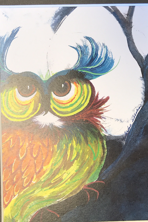 COLORFUL WISDOM Watercolor Print- Shery Polansky
